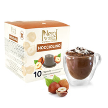 Load image into Gallery viewer, Neronobile Nocciolino - Hazelnut Nespresso Compatible Capsules Pack of 10