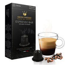 Load image into Gallery viewer, 24 Packs of Swiss Presso and Neronobile Capsules (240 Capsules Of Coffee, Chocolate, Hazelnut, Karak Tea) - Nespresso Compatible