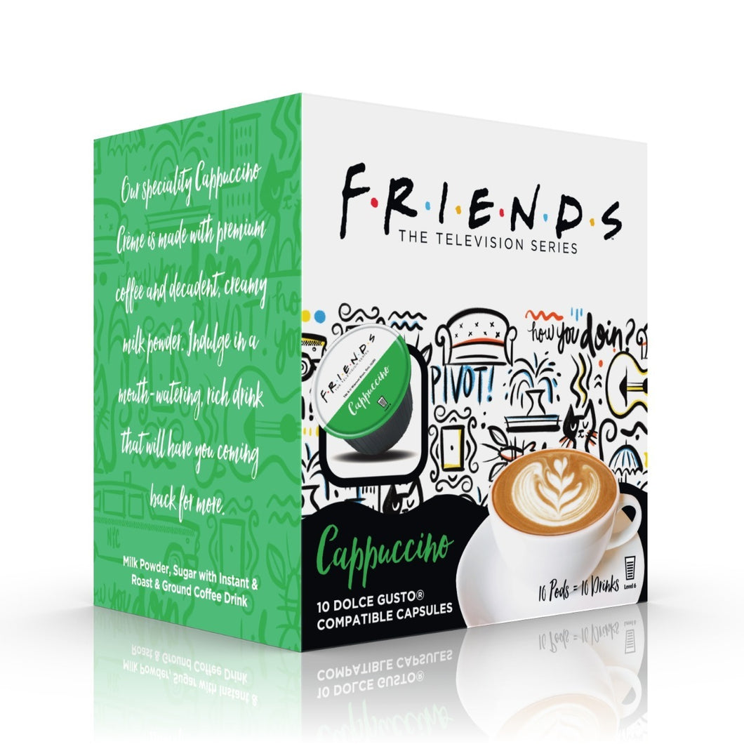 FRIENDS Cappuccino Dolce Gusto Compatible Pods