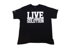 "Load image into Gallery viewer, ""Live in the Solution"" Tee (Unisex)"