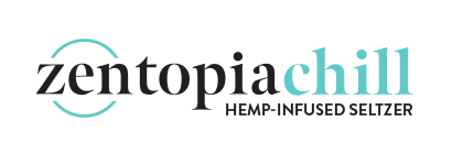 Zentopia Chill Hemp-Infused Sparkling Water