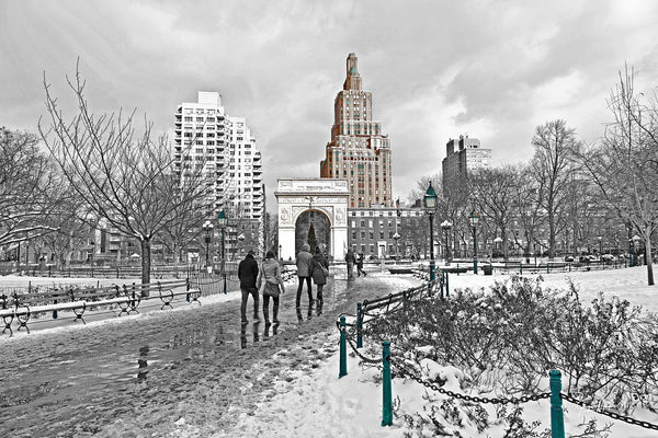 Washington Square Park Winter