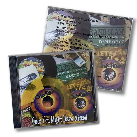 Band of Oz The Ones you Might Have Missed CD