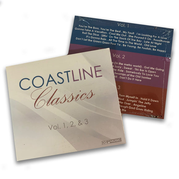 Jim Quick and Coastline Classics Volume 1,2 and 3 Music CD Set
