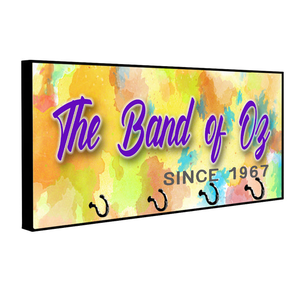 The Band of Oz Since 1967 Wood Key Hanger Dog Leash Hanger