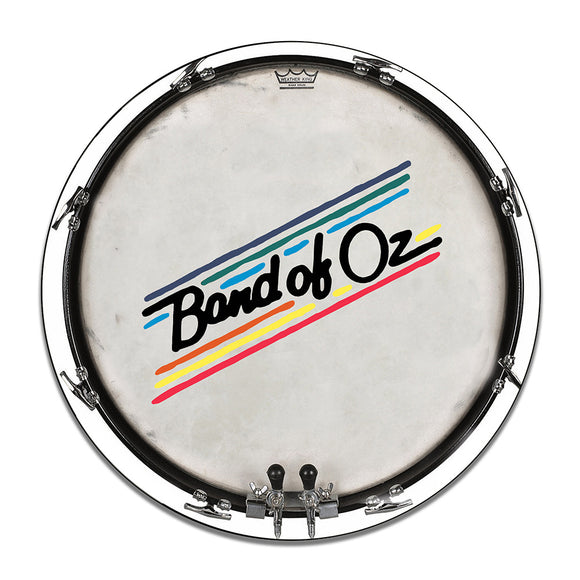 Band of Oz Drum Head Color Design 11.75 Inch Aluminum Round Sign