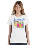 Over The Rainbow Band of Oz Since 1967 100% Poly T-Shirt