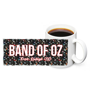 Band of Oz From Raleigh North Carolina 11oz Ceramic Coffee Mug