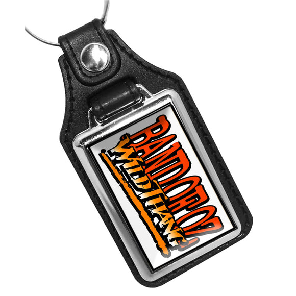 Band of Oz Wildthang Faux Leather PVC Key Ring