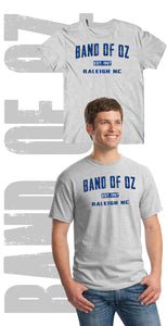 Band of Oz Vintage Style Established 1967 100% Heavyweight Cotton T-Shirt