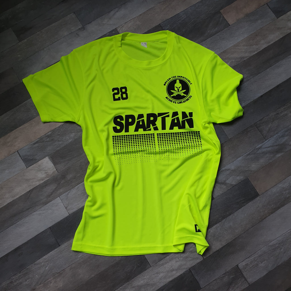 Luminous Yellow Spartan T-shirt