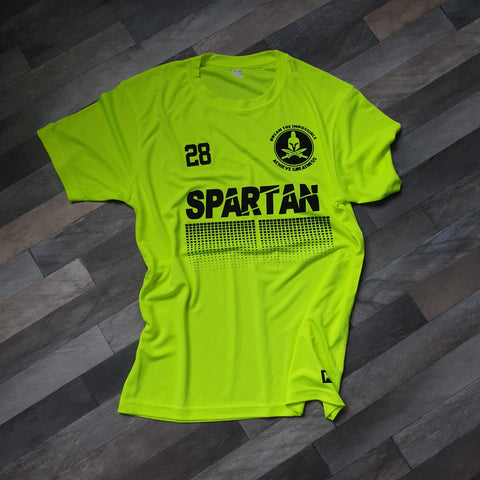 Black and Neon away kit