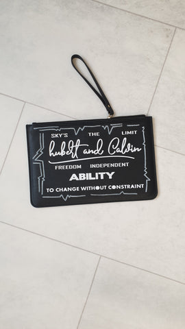 Fearless clutch bag