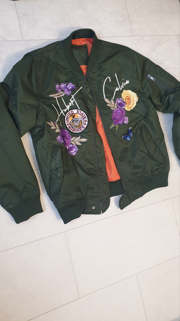 Khaki Limited edition Bomber Jacket