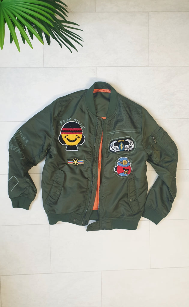Fear kills dreams Limited edition Bomber Jacket