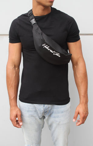 Black t-shirt with Verified print