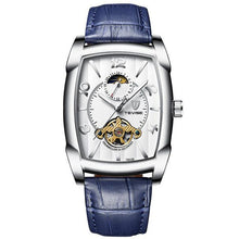 Charger l'image dans la galerie, Watch For Men Mechanical  Automatic Moon Phase Tourbillon