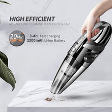 Load image into Gallery viewer, Vacuum Cleaner For Car Vacuum Cleaner Wireless Vacuum Cleaner Car Handheld Vaccum Cleaners Power Suction