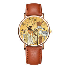 Load image into Gallery viewer, Women's Watch Ladies Leather Strap Quartz Gift