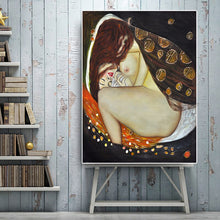 Charger l'image dans la galerie, Gustav Klimt Danae Reproduction Oil Painting on Canvas Art