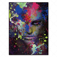 Load image into Gallery viewer, abstract painting art prints figures on canvas home decoration