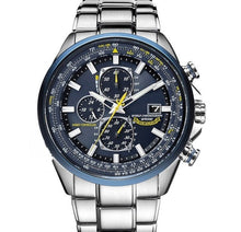 Load image into Gallery viewer, World Chronograph Watch Blue Angels Automatic Quatz with Gift Box
