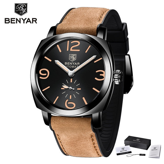 New Mens Watches BENYAR 2020  Luxury Automatic Mechanical