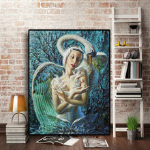 Load image into Gallery viewer, Dying Swan Oil Painting on Canvas Prints