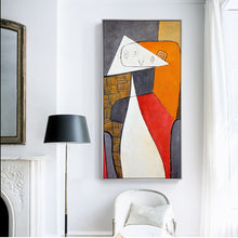 Load image into Gallery viewer, Abstract Figure Large Canvas Print