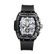 Load image into Gallery viewer, ONOLA Brand Transparent Plastic Watch Men Women clock 2021 Fashion Sports casual