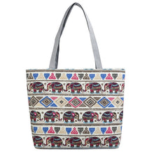 Charger l'image dans la galerie, Women's Canvas Tote Bags Shopping Bag Handbag for Girls