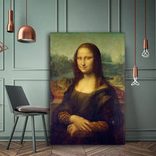 Load image into Gallery viewer, Mona Lisa Reproduction Oil Painting on Canvas Art Prints