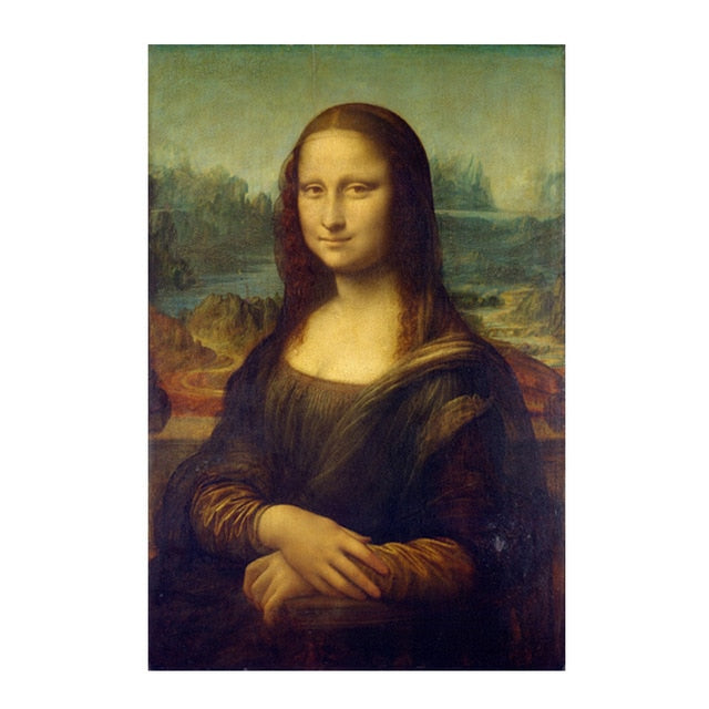 Mona Lisa Reproduction Oil Painting on Canvas Art Prints