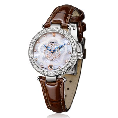 LOBINNI Luxury Brand Switzerland Women Watches Japan MIYOTA Automatic Mechanical Sapphire Diamond Ladies Watch