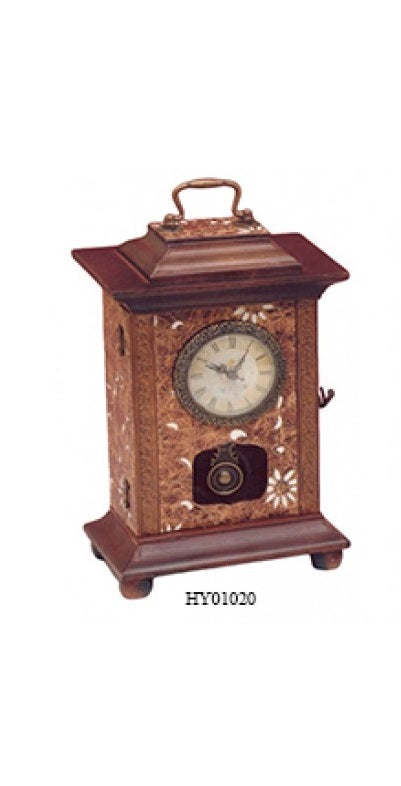 Wooden Table Pendulum ClockHY01020