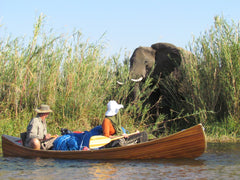 An African Canoe Story by Graham Haird, Crown Mines, South Africa