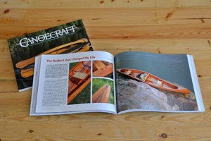 Two copies of Canoecraft by Ted Moores