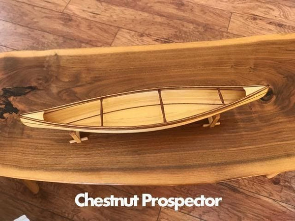 1:12 Scale Model Canoe Kit