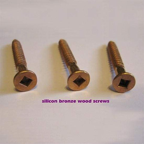Silicon Bronze Wood Screws