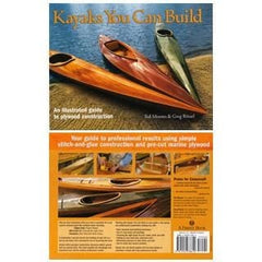 Kayaks You Can Build - By Ted Moores And Greg Rossel (Hardcover)
