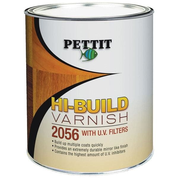 Pettit Hi-Build Varnish - One Quart