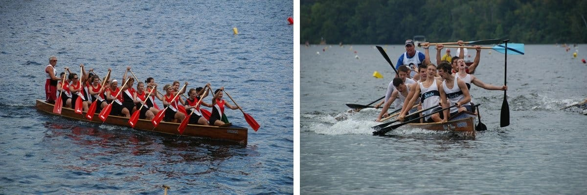 Bear Mountain Sprint Racing Canoes