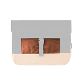 Customization Oxdin Joven Sleeve S Square Pouch Brown