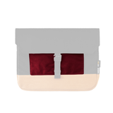 Customization Oxdin Joven Sleeve S Square Pouch Burgundy