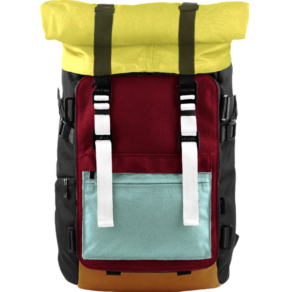 Customize Oxdin Venix Roll-top Backpack Sample 01