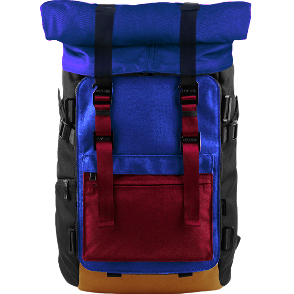 Customize Oxdin Venix Roll-top Backpack Sample 04