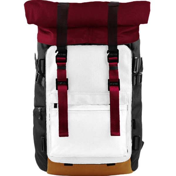Customize Oxdin Venix Roll-top Backpack Sample 06