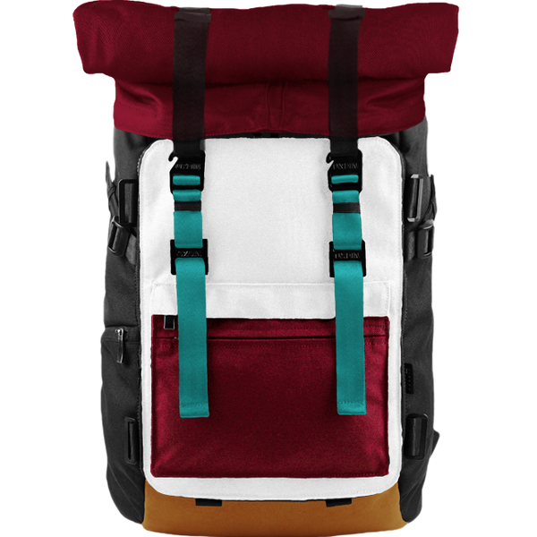 Customize Oxdin Venix Roll-top Backpack Sample 07
