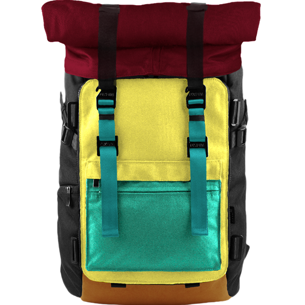 Customize Oxdin Venix Roll-top Backpack Sample 08