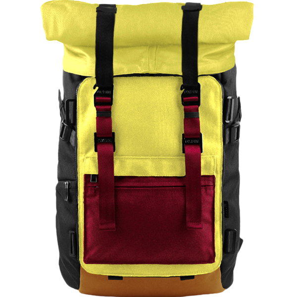 Customize Oxdin Venix Roll-top Backpack Sample 09